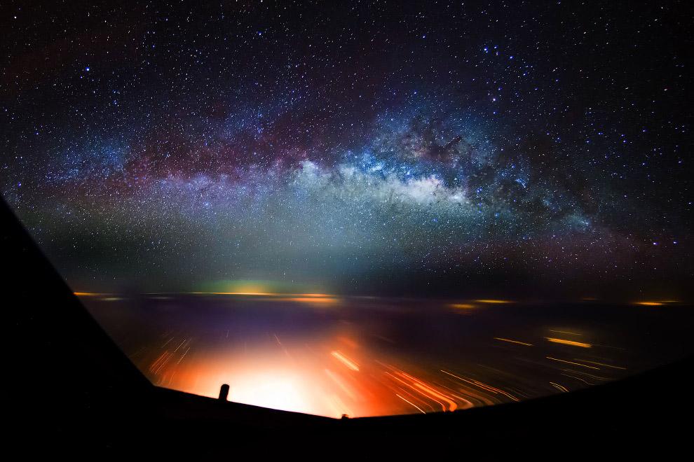 7. Кабина самолета. Выглядит инопланетно. (Фото Christiaan van Heijst   Daan Krans):