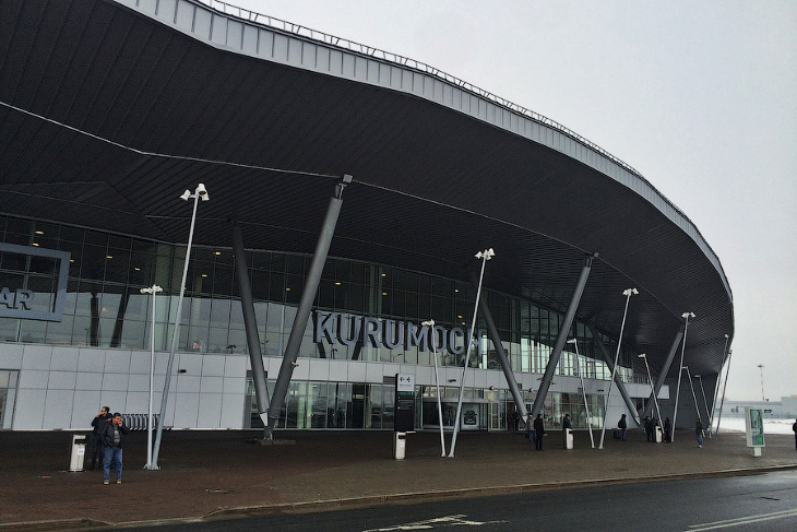 2. Аэропорт, который сегодня обслуживает Самару и Тольятти, был построен заново с чистого листа рядо