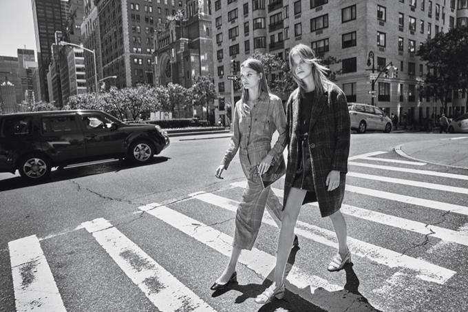 Лекси Болинг и Рус Абельс в кампании Mango