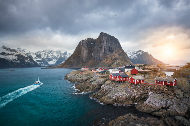 Места в Норвегии, которые нужно посетить: Лофотенские острова