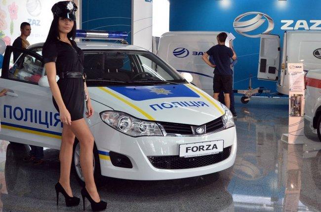 Патрульная милиция получит автомобили марки ZAZ