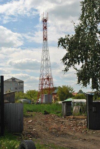 Новая вышка МТС в Куйбышеве