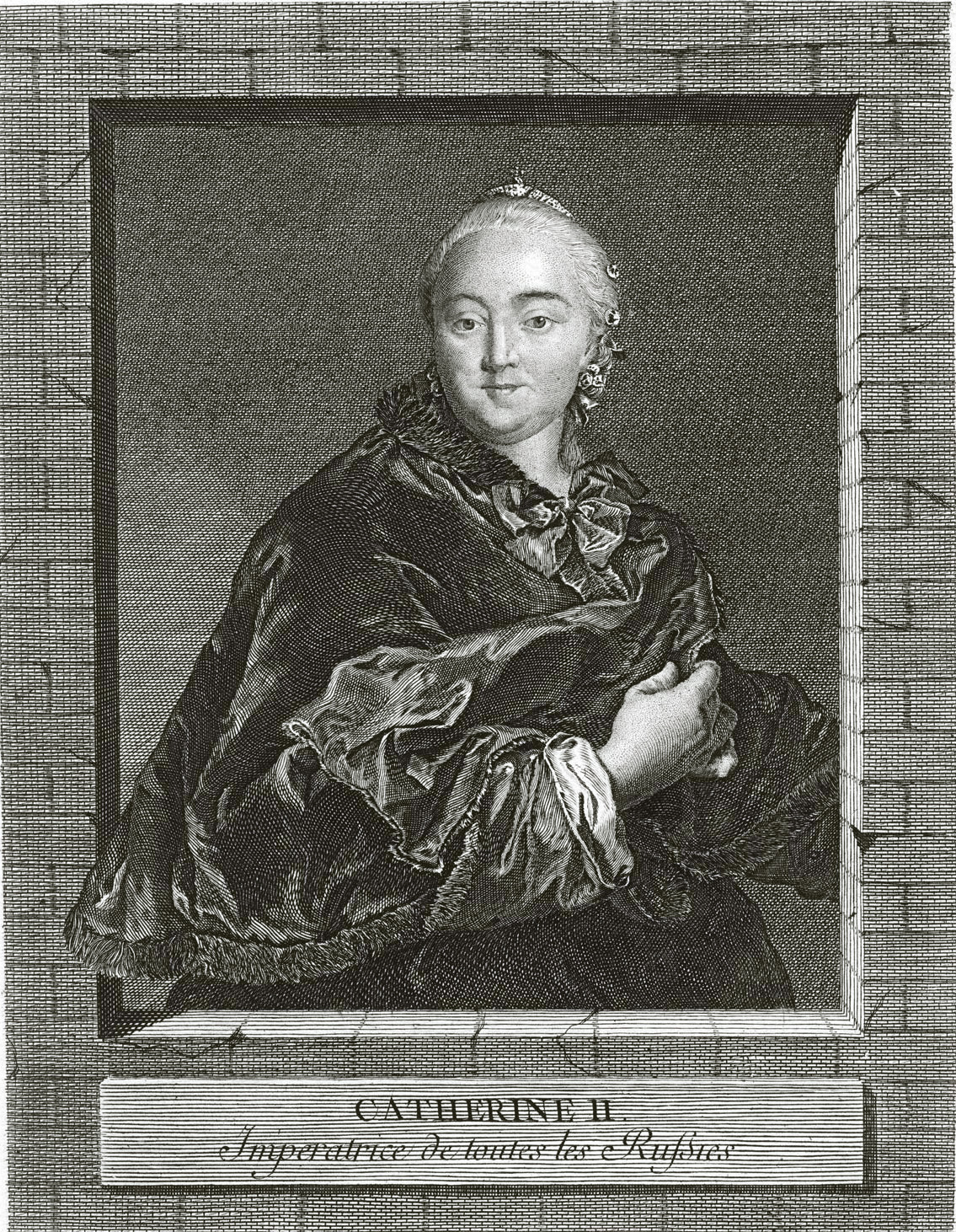 68. Курьезный портрет Екатерины II