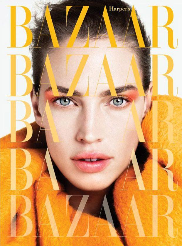 Crista Cober Stars in Harper's Bazaar Ukraine March 2017 Cover Story (7 pics)