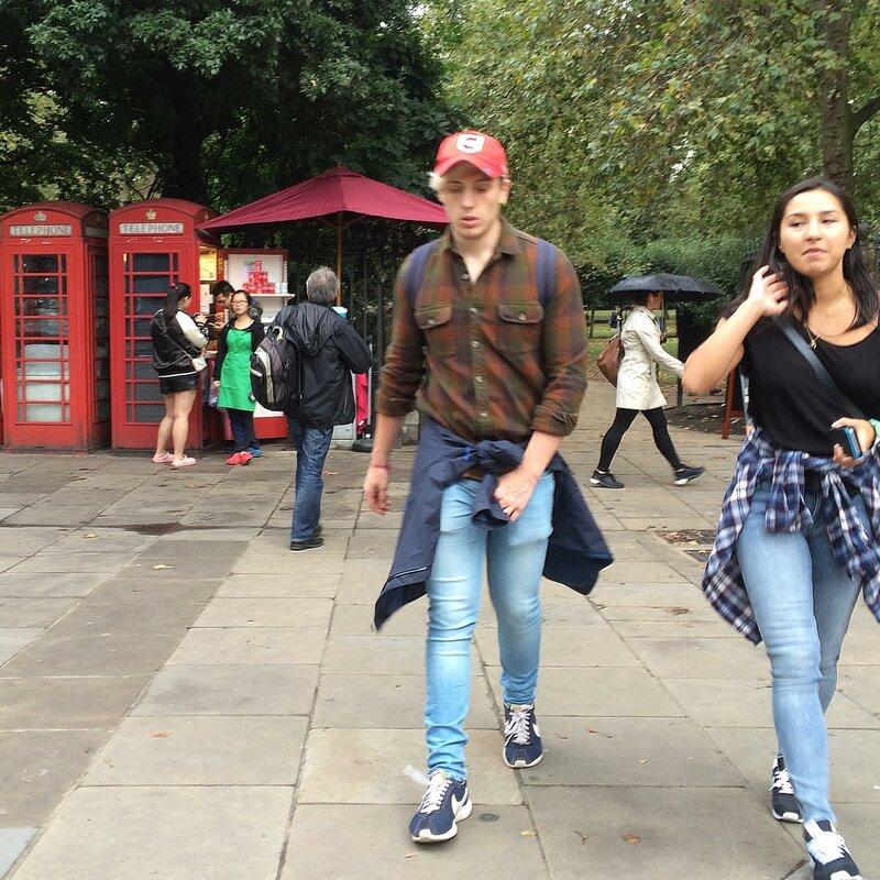 Лица на улицах Лондона