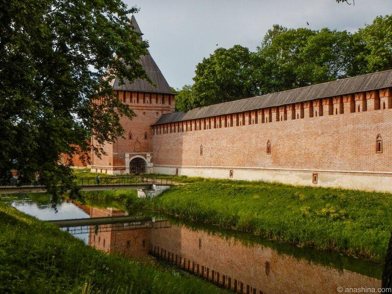 Крепостная стена и Копытенские ворота, Смоленск