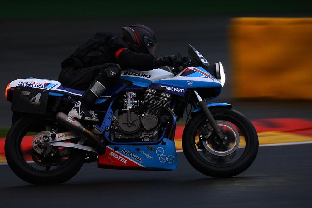 Выступление команда Classic Suzuki на трассе Спа-Франкоршам (трейлер)