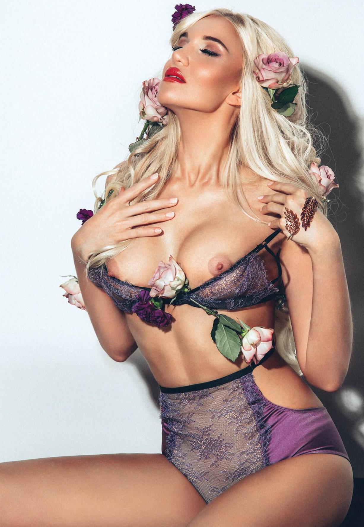 Юлия Росса в Playboy Украина, март 2017
