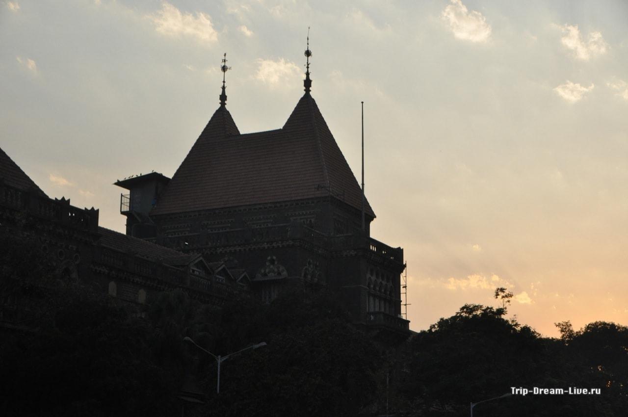 Закат в Мумбаи