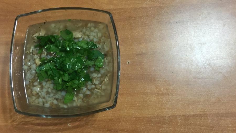 Гречневый суп для маленького великана