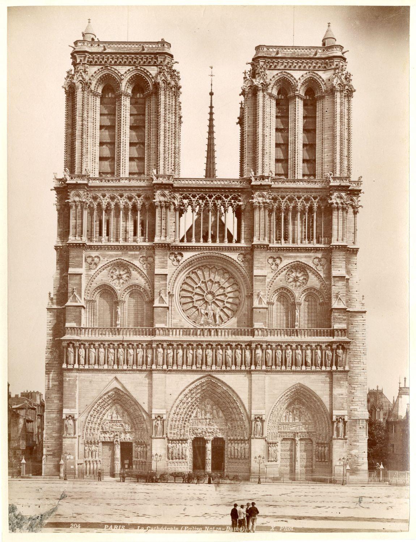 1880. Собор Парижской Богоматери