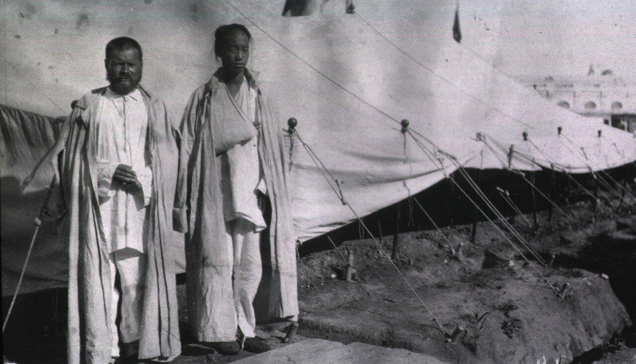 Кауфманский госпиталь Красного Креста №2. Пациенты