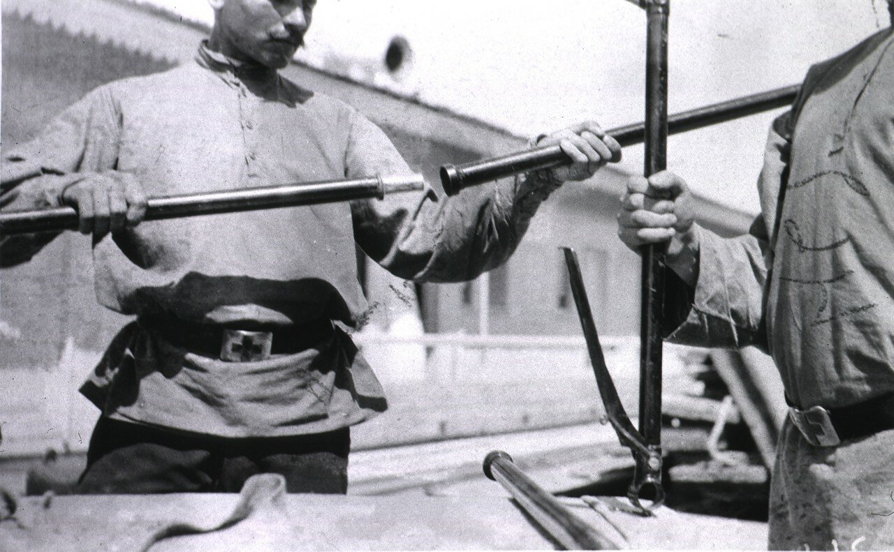 Немецкие ручные носилки