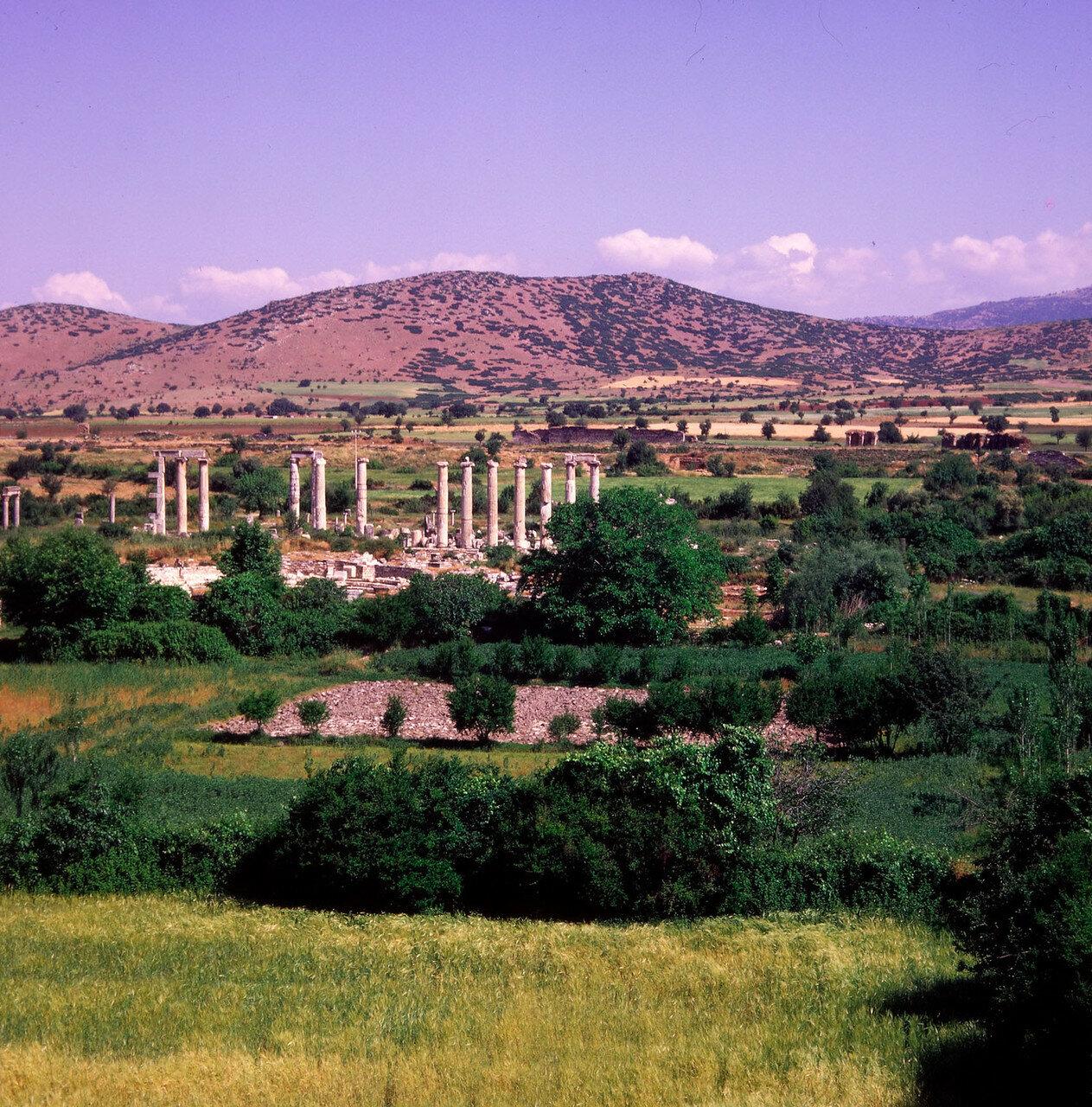 Афродисиас. Театр и театральные бани