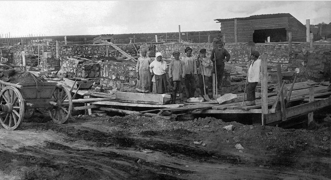 1928. Челябинск. Челябинская электростанция