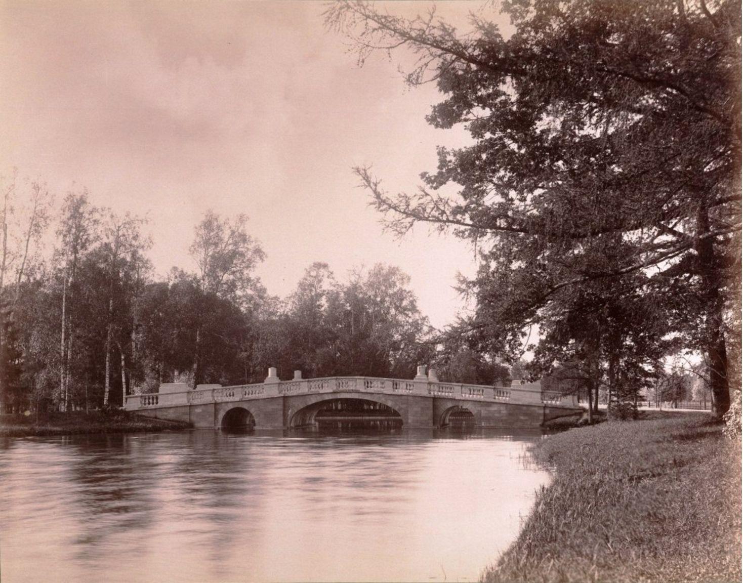 Гатчинский парк. Большой Каменный Мост