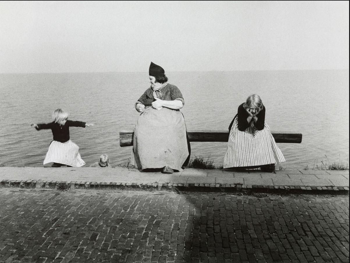 1954. Волендам, Голландия