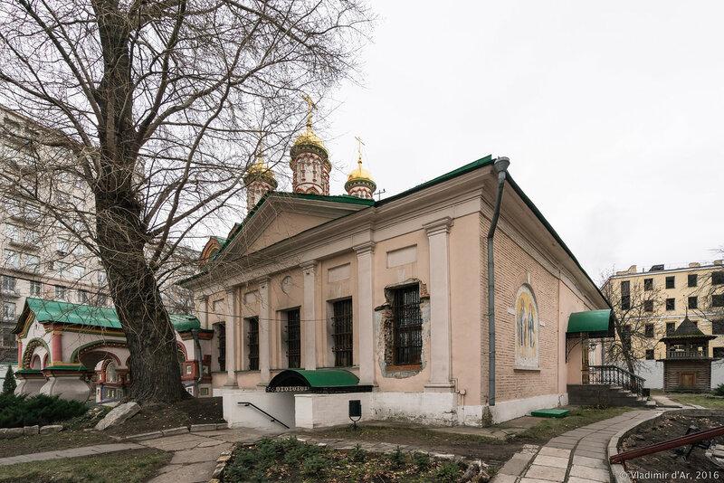 Храм Николая Чудотворца на Берсеневке