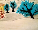 Шапошникова Роза (рук. Дружинина Ангелина Григорьевна) - Снежный лес