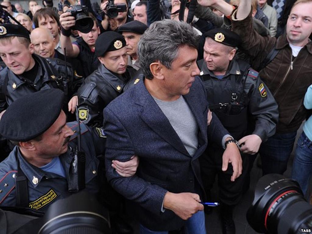Задержание Бориса Немцова(2)