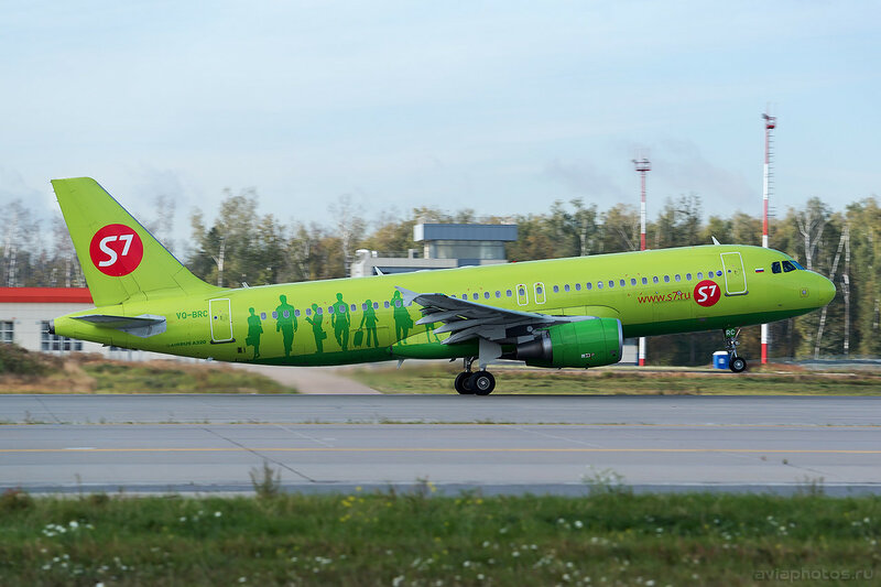 Airbus A320-214 (VQ-BRC) S7 004_D801047