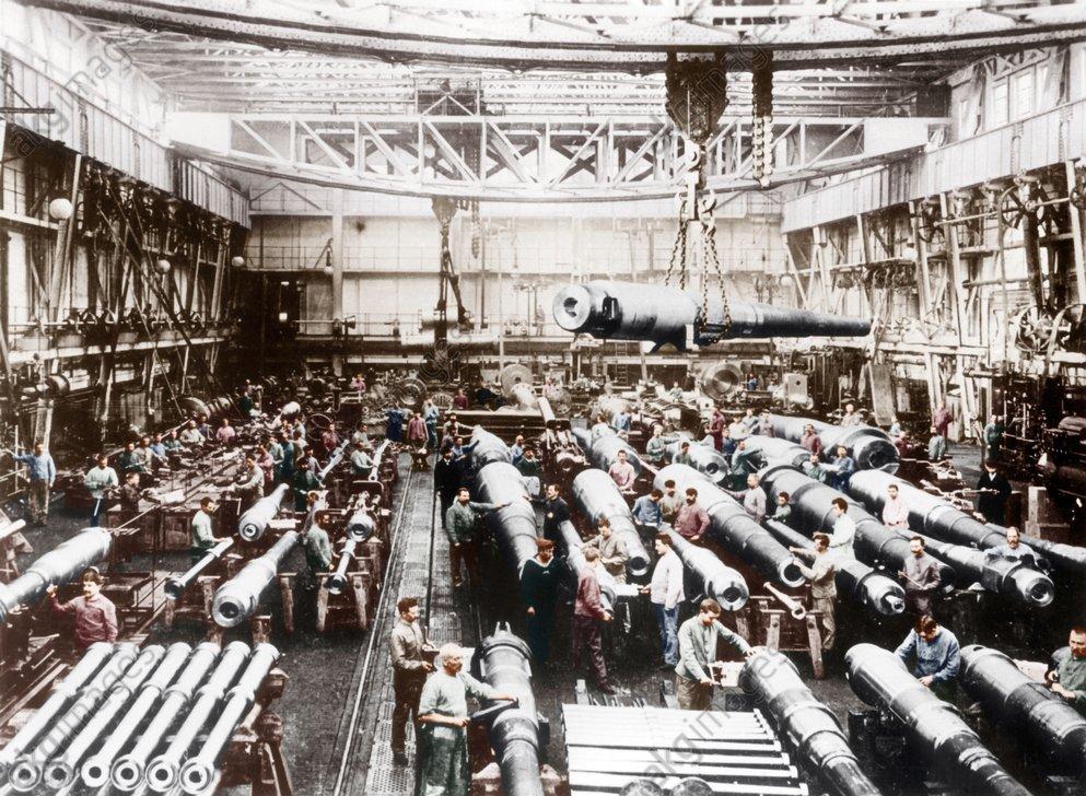 Deutschland/Kanonenwerkstatt bei Krupp.. - Germany / Krupp Canon Factory -