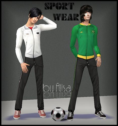 Спортивная Линия Одежды Для Мужчин.Автор: Alisa