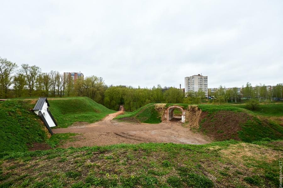 alexbelykh.ru, Великолукская крепость, крепость Великие Луки, крепости северо-запада, западные и равелинные ворота