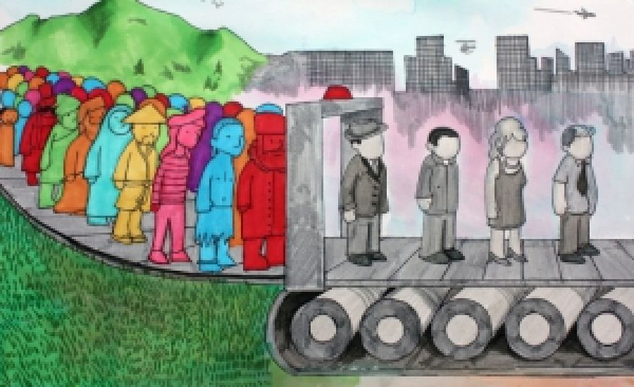 Два світогляди в період глобалізації: культурний імперіалізм і культурний націоналізм