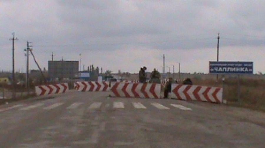 Оккупанты подвинули свой блокпост ближе к украинской границе