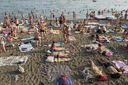 Количество туристов в Крыму уже достигло прошлогоднего уровня