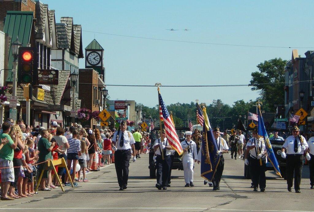 Парад в честь Дня Независимости-2016.