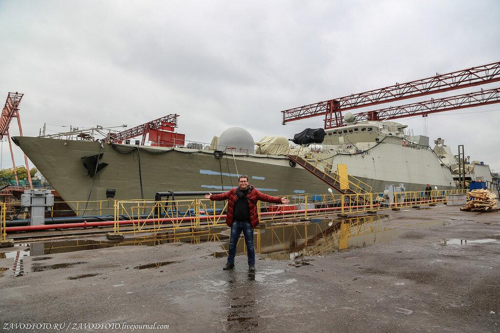 Россия строит первый полноценный стелс-корабль