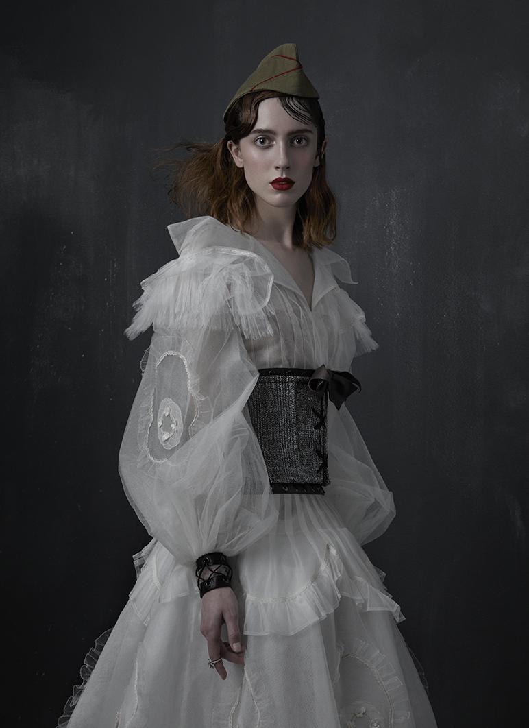 Портреты в стиле Vogue Japan September 2016