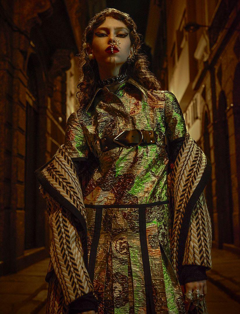 Vogue Brazil December 2016 / Lorena Maraschi by Zee Nunes