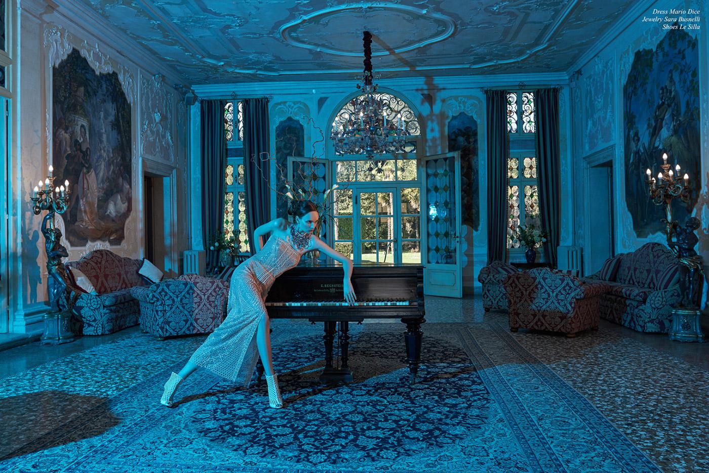 Insomnia для Icon Magazine / фотограф Davide Ambroggio