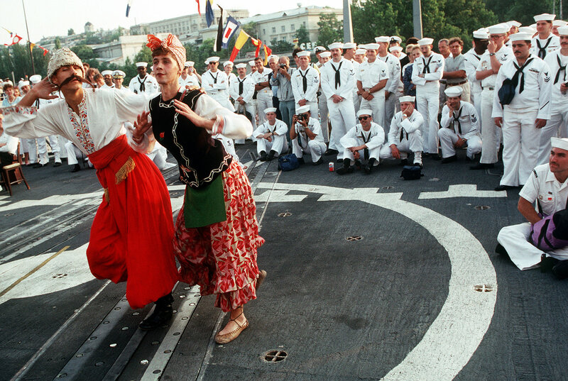 Как американские моряки в Севастополе побывали