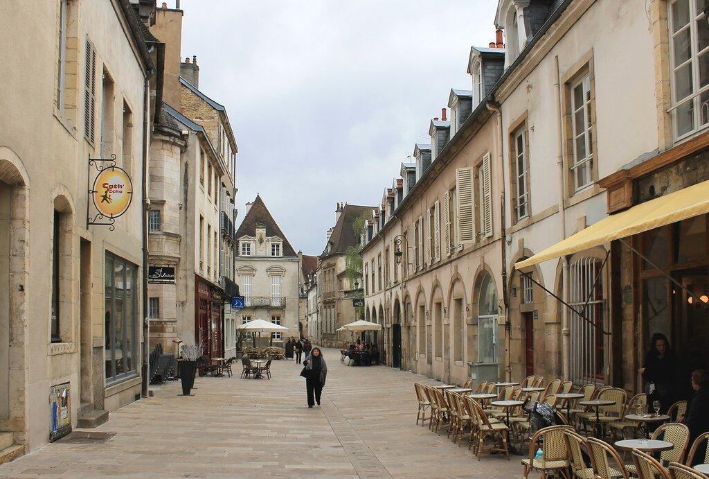 Дижон. Улица Вобан (Rue Vauban)