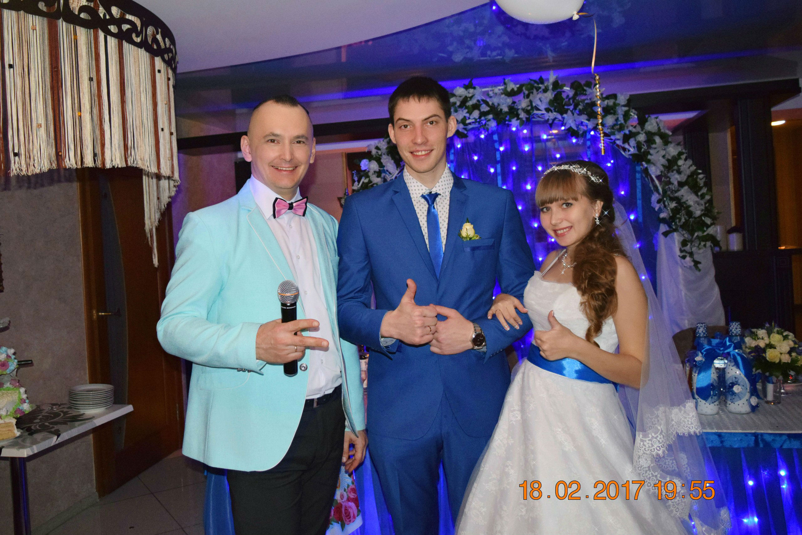 18 февраля 2017 г. Волгоград. ресторан Софи. Проведение свадебного торжества Александра и Анастасии. Пусть все Ваши мечты сбываются! Будьте счастливы!