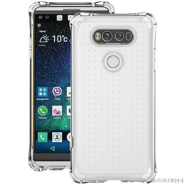 Смартфон LG V20 красуется «в полный рост» на новых изображениях