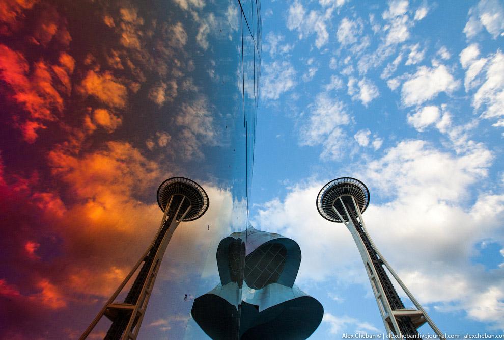 5. В 23.00 вылет в Ванкувер, перелет всего 1 час на турбовинтовом Бомбардье авиакомпании Alaska