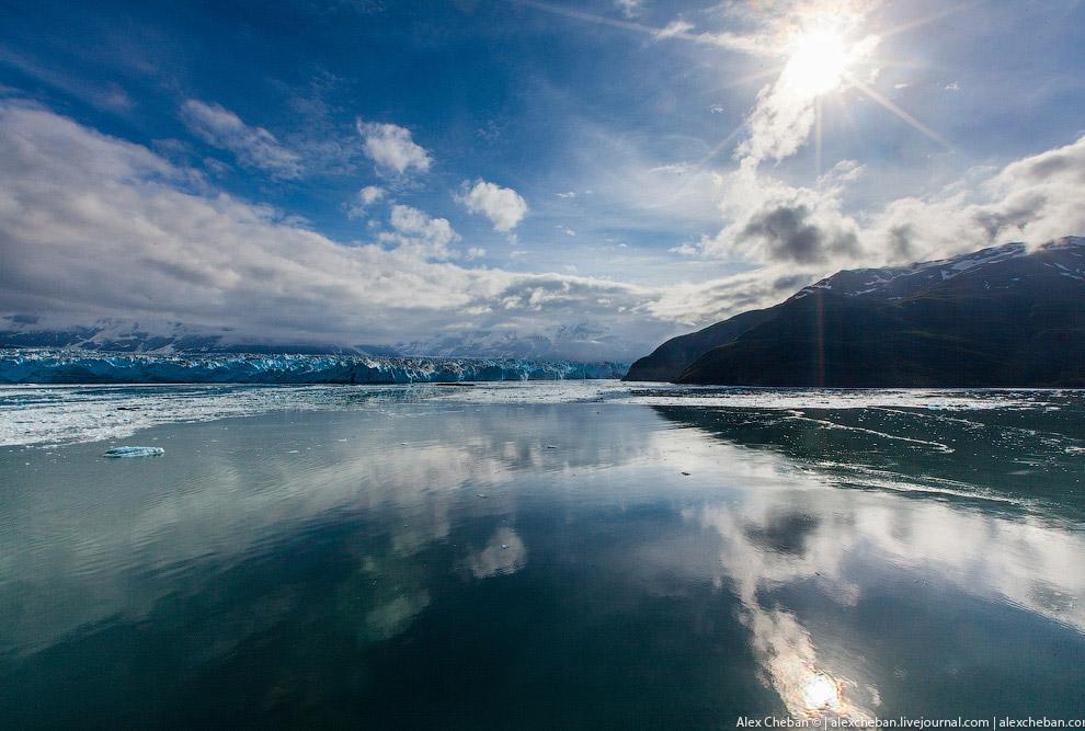 29. Тишину прерывает только оглушающий треск ледяной стены, которая обрушается в океан: