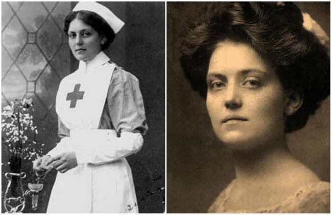 Вайолетт работала на борту огромного судна «Олимпик». В 1911 году во время неудачного маневриров