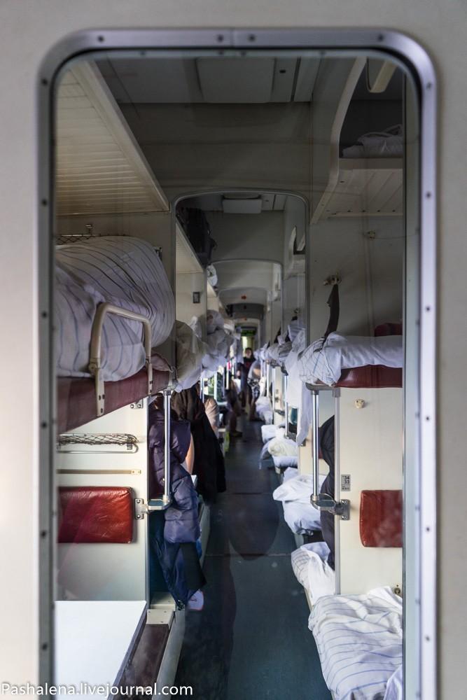 14. Через несколько суток и в вагоне, и в туалете будет нестерпимо вонять. Туалет убирают несколько