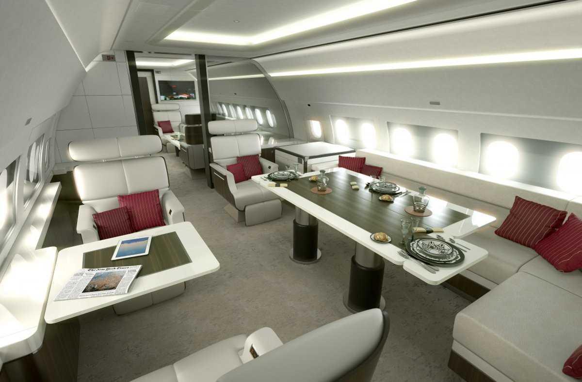 4. Airbus является одним из ведущих производителей частных самолетов и располагает различными моделя