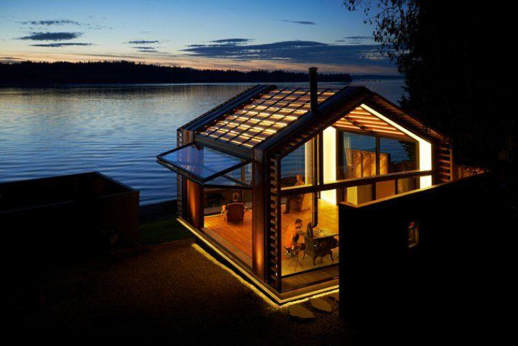 1. Идея проекта принадлежит архитектурной студии Грейпейнтс, решившей соединить модерновые элементы
