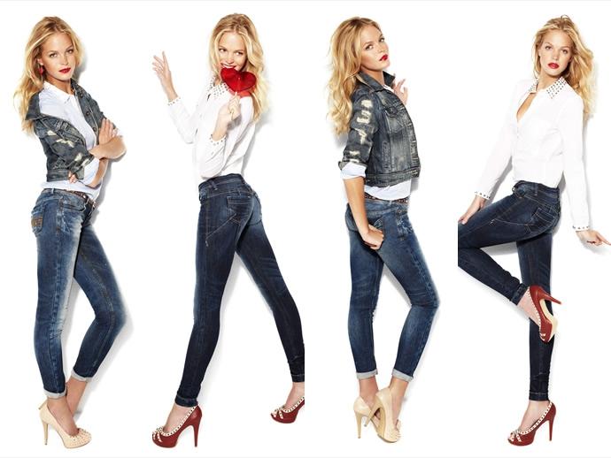 Один изнаиболее распространенных предметов современного женского гардероба— джинсы. Неко