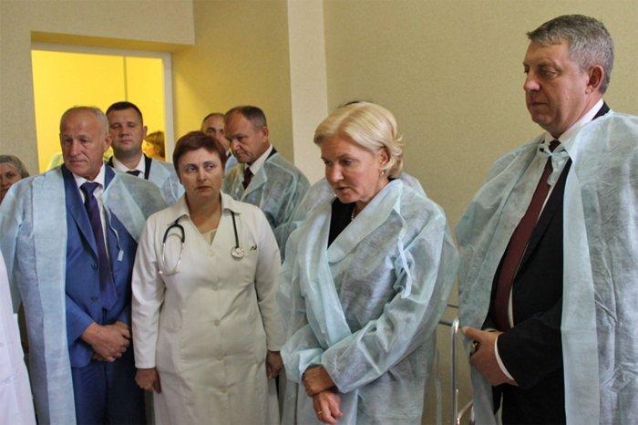 Вице-премьер руководства РФОльга Голодец посетила Клетню иОвстуг