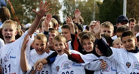 Ввоскресенье вСмоленске пройдет этап «Кросса нации— 2016»