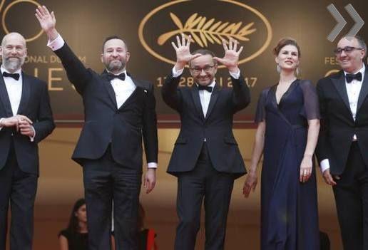 Андрей Звягинцев зафильм «Нелюбовь» получил приз жюри Каннского фестиваля